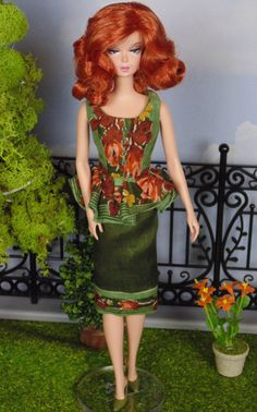 Fall Colors for Silkstone Barbies by HankieChic on Etsy