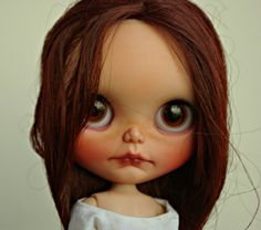 My little RBL custom is looking for a home She is a Boemian peace with 2 pairs of handpainted eyechips by me and two pair by brainworm  She has the