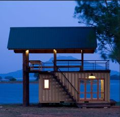 Shipping Container Home... Nice idea!