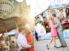 Themed Engagement Photos - Fun Engagement Photos | Wedding Planning, Ideas  Etiquette | Bridal Guide Magazine