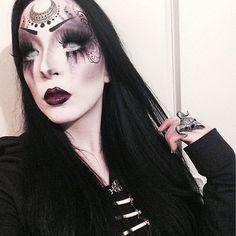 Noctemy — Deadly lipz! #motd #fotd #eotd #goth #gothic...