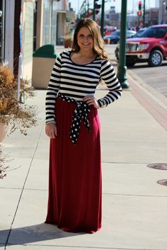 The Best Gift Maxi Dress