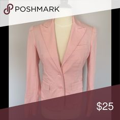 Selling this Moda pink blazer on Poshmark! My username is: betsygbrown. #shopmycloset #poshmark #fashion #shopping #style #forsale #Moda International #Jackets & Blazers