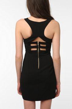 love it. Sparkle & Fade Harness Bodycon Dress