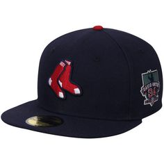 32ad422977c New Era David Ortiz Boston Red Sox Navy Alternate Authentic Collection  59FIFTY Fitted Hat with Retirement Patch