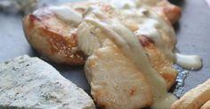 Pechuga de pollo en salsa de cabrales