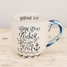 Glory Haus - Hope is an Anchor Mug
