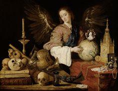 Antonio de Pereda - Allegoria della Vanità (1634) circa