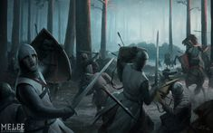 Darren Tan. Fight Teutons in the forest.