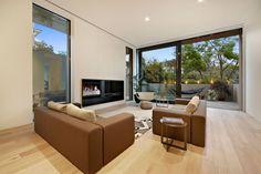 White Smoked Flooring by Royal Oak Floors (Interiors by Carr Design)  www.royaloakfloors.com.au