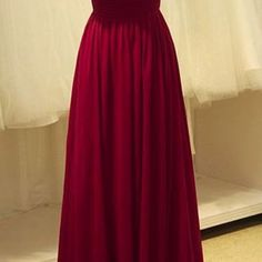 A154 high neck lace top prom dress long, burgundy long prom dress, red wine bridal wedding gowns