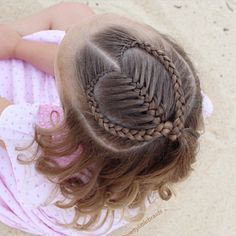 Cute Mermaid Heart Braid For Valentine's Day Hairstyles 2016 Cute Girls Hairstyles, Kids Braided Hairstyles, Trendy Hairstyles, Hairstyles Pictures, Straight Hairstyles, Wedding Hairstyles, Teenage Hairstyles, Layered Hairstyles, Hairstyles 2016