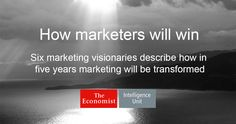 Marketing is on the ascent. It has frequently led at big consumer products companies. Now its influence is growing everywhere: at B2B companies, professional services firms, companies dominated by engineering or logistics. You can see marketing's rise on business bestseller lists, on YouTube playlists, in the new brands that have broken away and differentiated themselves, and in the explosion of marketing start-ups (and what investors are paying for them). Marketing is becoming a more ...