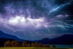 17.07.2015 - Kräftiges Gewitter @ Seengebiet (OÖ)
