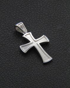 Σταυρός λευκόχρυσος Κ14 Mens Jewellery, Man About Town, Cross Jewelry, Crosses, Background Images, Jewelery, Cufflinks, Pendants, Gift Ideas