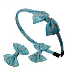 bows headbands & clips pair sets for girls #AHC001