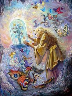 Josephine Wall | Flight to Freedom