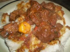 A delectable stewed beef recipe, the Caribbean way. | CaribbeanPot.com