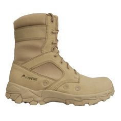 McRae Hot Weather tactical boot style 3718 is manufactured using the most advanced lightweight materials available on the market today. It also features three times the ventilation of traditional hot weather military boots and is equipped with a Vibram Multi-Sport outsole ™ for superior grip. Imported