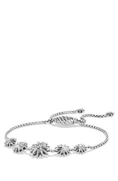 David Yurman 'Starburst' Five-Station Bracelet with Diamonds available at #Nordstrom