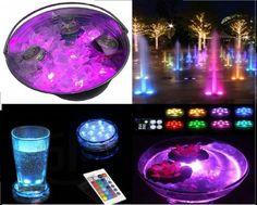 3. Yia Mia Submersible Led Lights Shopping Center, Aquariums, Jacuzzi, Underwater Led Lights, Boat Lights, Puck Lights, Fountain Lights, Pond Fountains, Small Lamps