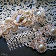 komplet biżuterii ślubnej , ślub, ślubny, ślubna, sutasz, komplet, kolczyki biżuteria