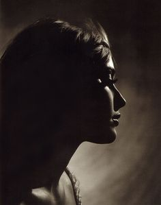 Sharon Tate photographed by Philippe Halsman in 1966.