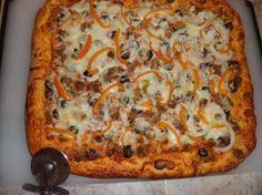 """""""5-Minute Bread"""" Pizza. Photo by FabioH"""
