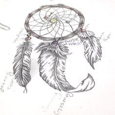 My dream catcher tattoo idea  and best friend tattoo :)