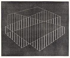 pupcreativeagency:  Josef Albers, Fenced, 1944