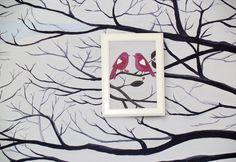Tree bedroom (birds) Tree Bedroom, Birds, Frame, Home Decor, Picture Frame, Decoration Home, Room Decor, Bird, Frames
