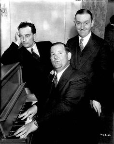Buster Keaton, Stan Laurel & Oliver Hardy. The sound you hear is me squealing like a little girl.