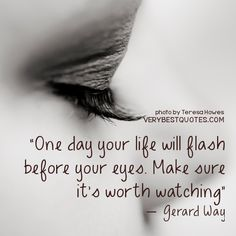 life quote on eyes