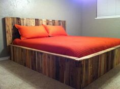 used pallet bed
