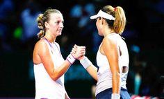 [Thể thao] WTA Finals 2015: Kết thúc vòng bảng: Muguruza Kvitova đi tiếp
