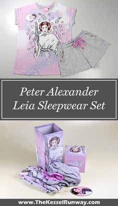 Women's Peter Alexander x Star Wars Princess Leia sleepwear set review - The Kessel Runway