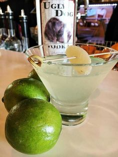 Ginger Lime Drop Martini