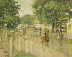 Pauline Palmer After the Rain 1910