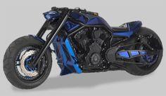 Another terminator custom vrod... | repinned by www.BlickeDeeler.de