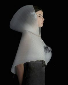 Inspired by 16th and 17th century Flemish and Dutch paintings, the work of artist Suzanne Jongmans recreates the look of these classic images with a twist — she uses foam packing materials instead of rich silks and lace. Besides looking great, it's a subtle comment on our disposable culture, too. Lovely.