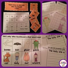 FUN learning using There Was an Old Lady Who Swallowed a Bat