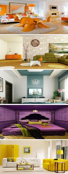 Home Decor Feng Shui with Orange Accent Color Room Feng Shui Home