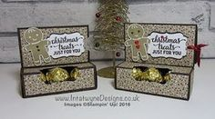 Crafty Christmas Countdown - Gift Card Holder with Ferrero Rocher Chocolates - Intatwyne Designs - Crafty Christmas Countdown – Gift Card Holder with Ferrero Rocher Chocolates – Intatwyne Des - Christmas Countdown, Stampin Up Christmas, Christmas Crafts, Xmas, Candy Crafts, Paper Crafts, Ferrero Rocher Chocolates, Gift Card Boxes, Gift Cards
