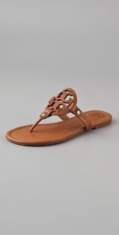 Tory Burch Miller Flat Thong Sandals - StyleSays
