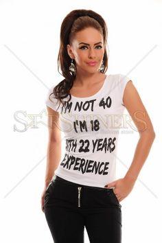 Mexton Mysterious Age White T-Shirt