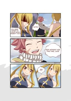 NaLu by rawwxxwizz on DeviantArt Fairy Tail Meme, Fairy Tail Comics, Fairy Tail Art, Fairy Tail Guild, Fairy Tail Ships, Fairy Tales, Natsu Y Lucy, Fairy Tail Natsu And Lucy, Nalu Comics