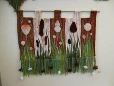 """У воды"", гобелен, tapestry, hand weaving"