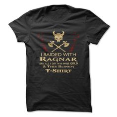 Do you love the show Vikings? Show everyone that you're a badass, with this great shirt!