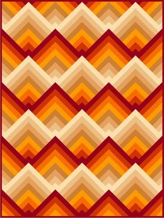 New Rationality Red Pre Cut Quilt Kit by Quilt Addicts Double Size Log Cabin Quilts, Log Cabin Quilt Pattern, Patchwork Quilt Patterns, 3d Quilts, Jellyroll Quilts, Strip Quilts, Barn Quilts, Quilt Blocks, Bargello Quilts