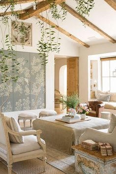 living room french country decorating ideas - Internal Home Design French Country Living Room, French Country Decorating, Living Room Designs, Living Room Decor, Living Rooms, Barn Living, Casas Country, Room Decor For Teen Girls, Patina Farm